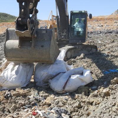 09-sistemazione dei big bags nell_area dedicata